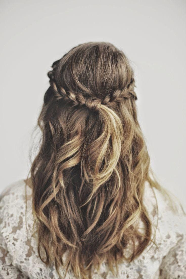 konfirmations hår krøller