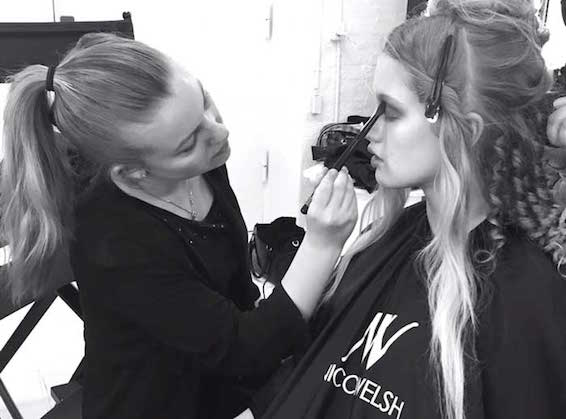Nicci Welsh Students Working on their final photo shoot