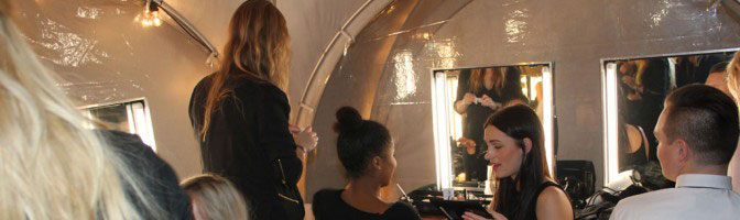 Backstage At The Danish Music Awards With United Makeup Academy