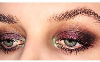 SOFIE BLICHER / HOW TO: GLITTER SMOKEY EYE