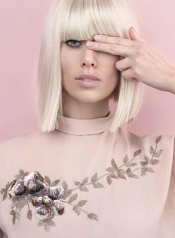 Mia Pelch' work - tidligere elev på Nicci Welsh Makeup Academy