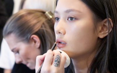 FASHION WEEK: ET INDBLIK I TO ARBEJDSDAGE FOR EN MAKEUPARTIST/HÅRSTYLIST