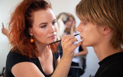 BACKSTAGE TIL FASHION WEEK: Boozt show med Nicci Welsh Pro Team