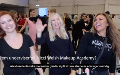 Nicci svarer på spørgsmål omkring makeup artist uddannelsen – Part 1