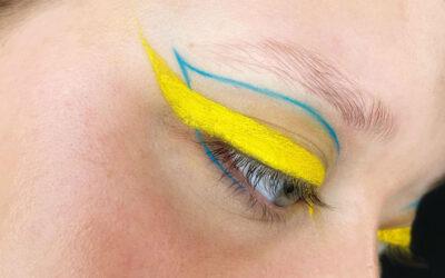Bag om makeupartist uddannelsen – med elev Cecilie