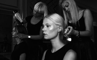 Step-by-step guide, vores elever backstage til Fashion Week