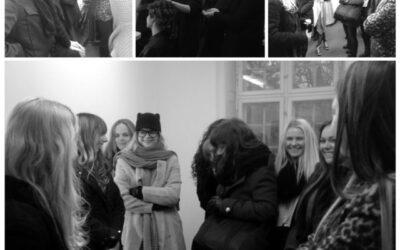 Behind the scenes med Eurowoman og den smukke Medina