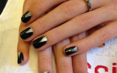 "En Step by Step – Nail Guide: ""Black with a twist"""